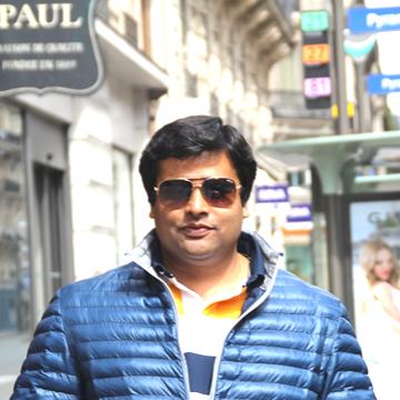 Vikrant Jain, 35, Indore, India