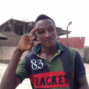 Stanley Enughwure, 34, Accra, Ghana