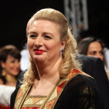 Suha Arafat, 52, London, United Kingdom