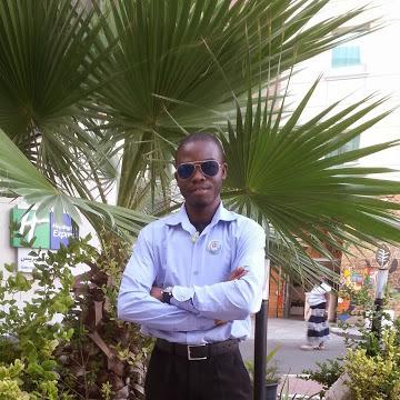 Peter Eze, 27, Dubai, United Arab Emirates