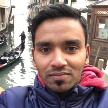 Manu Prasad, 27, Dubai, United Arab Emirates