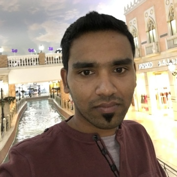 Manu Prasad, 27, Dubai, United Arab Emirates