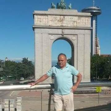 Pedro Manuel Miranda Salinaslu, 58, Milano, Italy