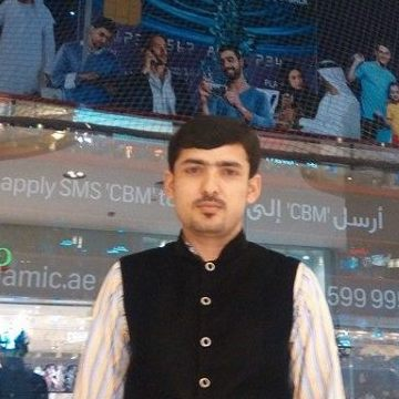Muhammad Sajid, 30, Dubai, United Arab Emirates