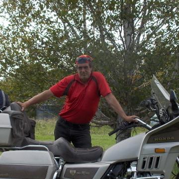 Russ Burnett, 57, Selkirk, Canada