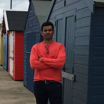Kicha Balakrishnan, 34, Harrow, United Kingdom