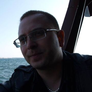 Olexandr Zinovyev, 35, Stockholm, Sweden