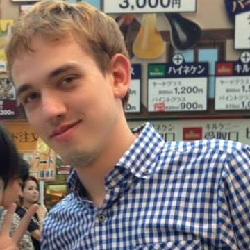 Constantin, 27, Nagoya, Japan