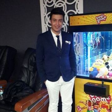 Muhammed Yaser Percin, 28, Antalya, Turkey