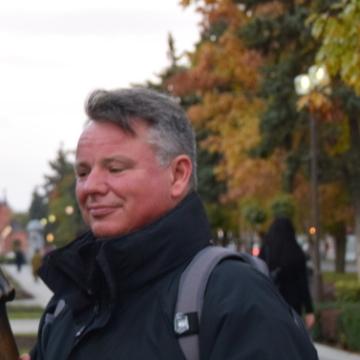 James Newman, 47, London, United Kingdom