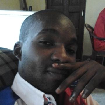 Heritier Mukendi, 27, Kinshasa, Congo (Kinshasa)
