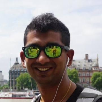 Satish Kumar, 32, Berlin, Germany