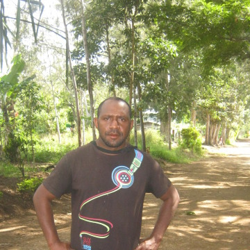 Charles Boma, 33, Port Moresby, Papua New Guinea