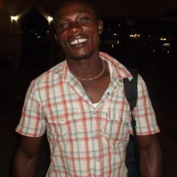 front man, 38, Banjul, Gambia