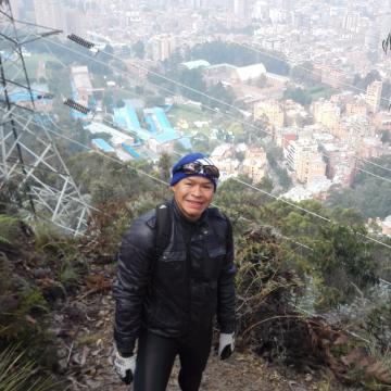 Jacques Manrique, 43, Bogota, Colombia