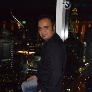 Jignesh Panchal, 32, Dubai, United Arab Emirates