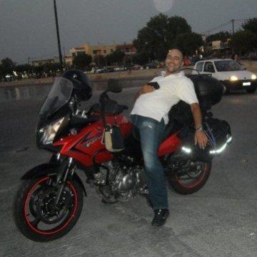 George Tsou, 38, Athens, Greece