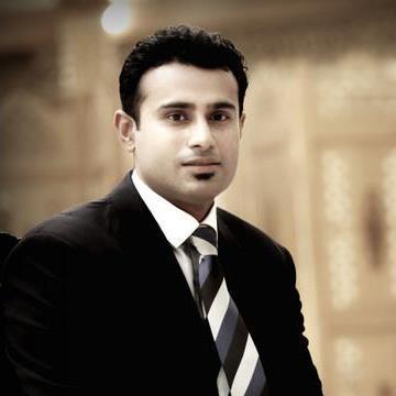 Kamran Bhatti, 30, Dubai, United Arab Emirates