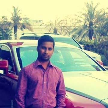 Arjun Anbalagan, 30, Dubai, United Arab Emirates