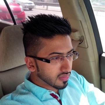 Sameer Rashid, 29, Dubai, United Arab Emirates