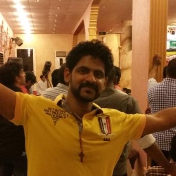 aravindchan , 29, Jeddah, Saudi Arabia