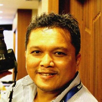 Apron Simamora, 46, Jakarta, Indonesia