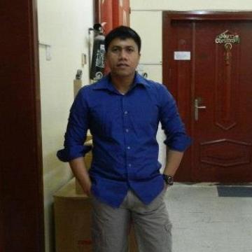 Ricky Gimpao, 33, Abu Dhabi, United Arab Emirates