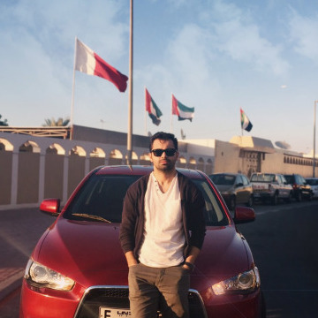 Houzaifa Jandali, 28, Dubai, United Arab Emirates