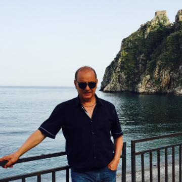 Pippo Scarcella, 64, Catania, Italy