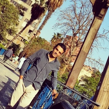 Ahmed Shaaban, 32, Cairo, Egypt