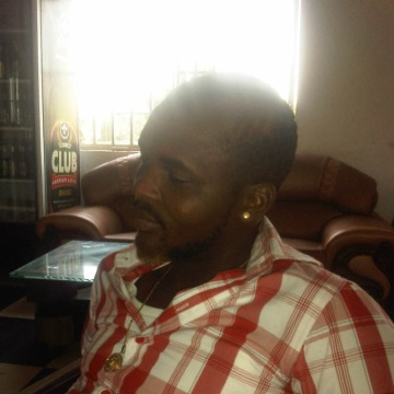 Cyril Azubuike, 30, Cape Town, South Africa