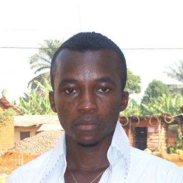 Bob Goddy, 25, Yaounde, Cameroon