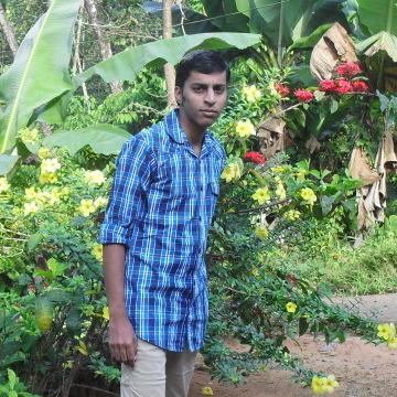 Ajo AjithJohney, 21, Nilambur, India