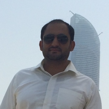 Muhammad Abbas, 30, Abu Dhabi, United Arab Emirates