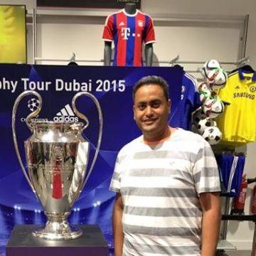 Mohammed Abdel Rahman, 29, Abu Dhabi, United Arab Emirates