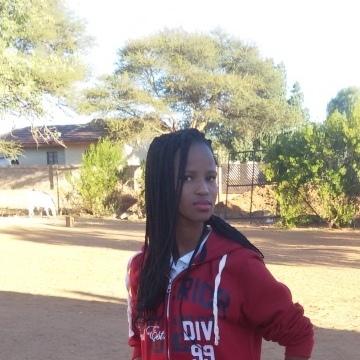 Tebogo Matlapeng, 23, Gaborone, Botswana