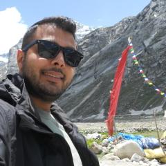 Arjun Sablok, 29, Mandi, India