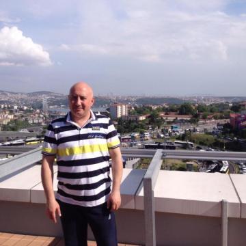 Erhan, 46, Istanbul, Turkey