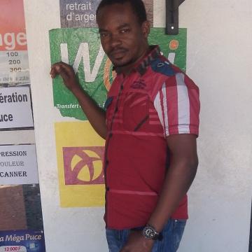 Okonu Abraham Chigozie, 34, Dakar, Senegal