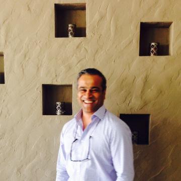Avinash Pereira, 47, Dubai, United Arab Emirates