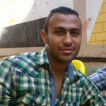 Ahmed Sayed, 28, Cairo, Egypt