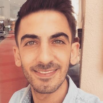 ahmed, 24, Amman, Jordan