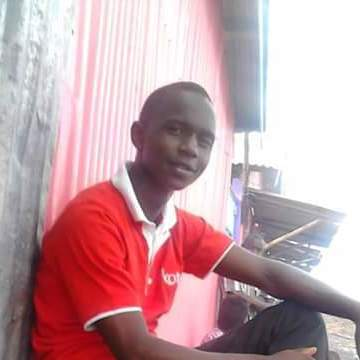Geoffrey Mosier , 20, Nairobi, Kenya