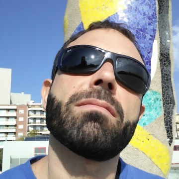 Carlo Pusceddu, 38, Barcelona, Spain