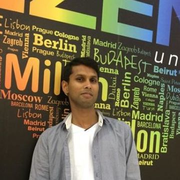 Jibachh Shah, 31, Dubai, United Arab Emirates