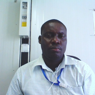Ishmael Quaye, 43, Accra, Ghana