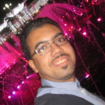 Ahmed Abdullah, 30, Alexandria, Egypt