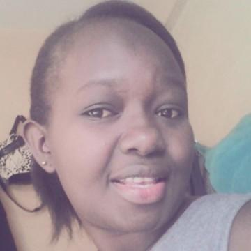 Julian Naomi, 26, Kisumu, Kenya
