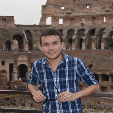 Umid Gafurov, 25, Rimini, Italy