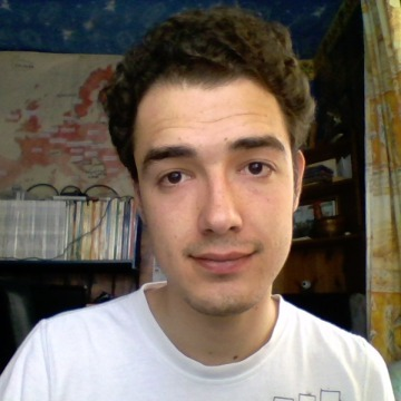 Melin, 21, Nantes, France